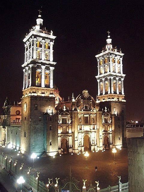 Пуэбла собор, Пуэбла.