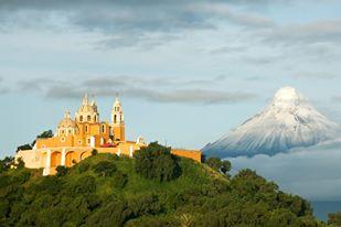 Чолула собор - Сан-Педро-Чолула, Пуэбла
