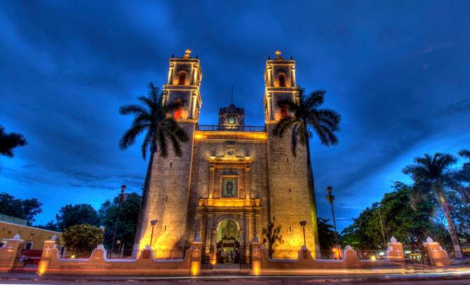 Церковь Сан-Сервасио - Вальядолид, Юкатан.