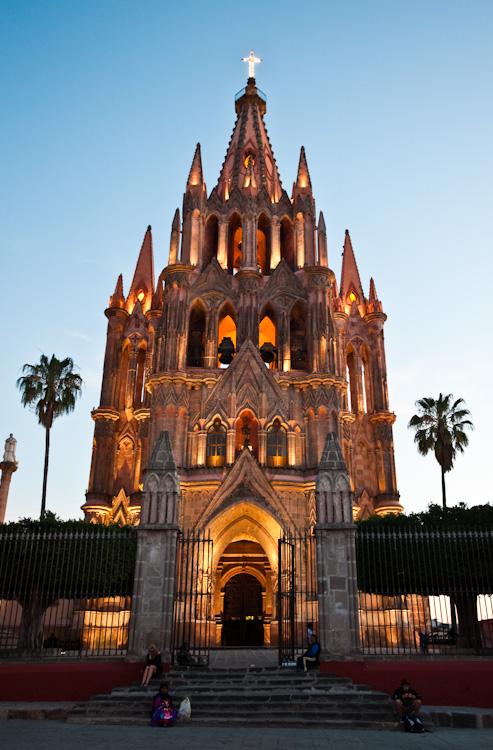 Храм Сан-Мигель-Арканхель - Сан-Мигель-де-Альенде, Гуанахуато.