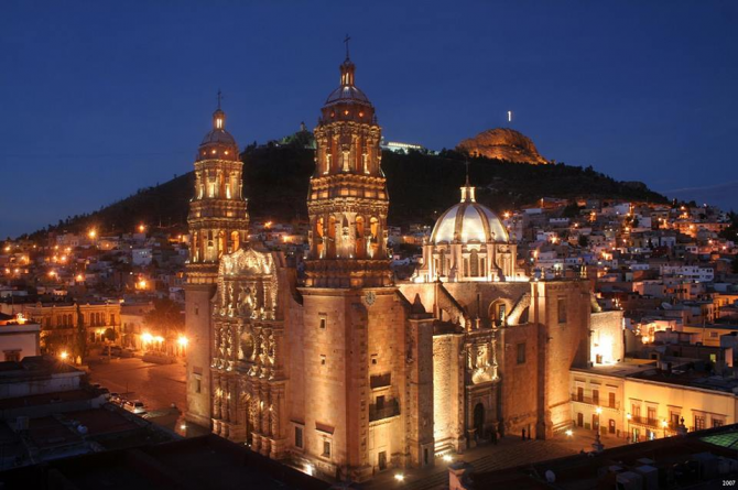 Basilica Cathedral of Zacatecas, Zacatecas.