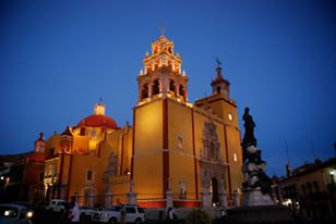 Basilica of Guanajuato, Guanajuato.