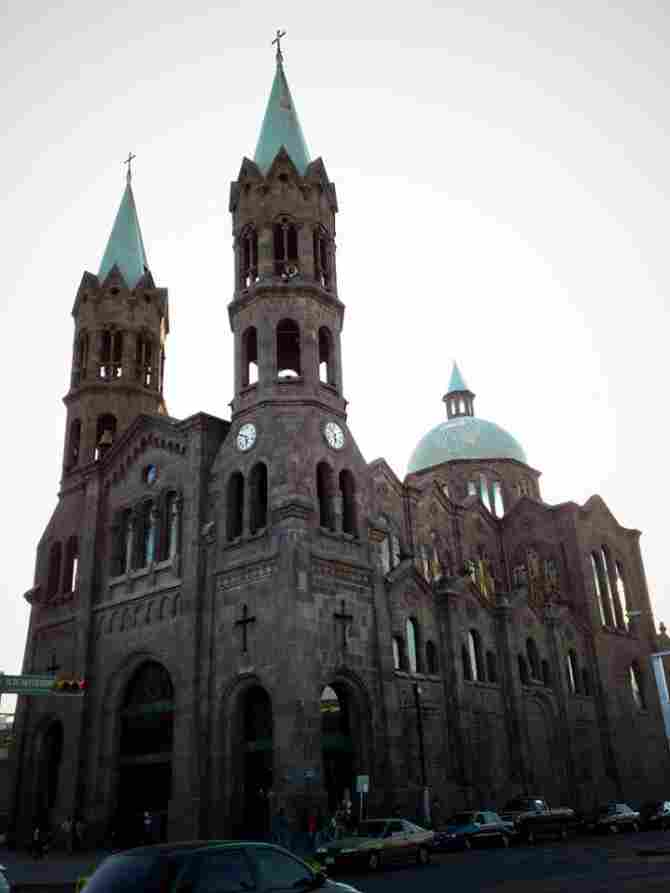 Basilica of Mercy - Apizaco, Tlaxcala.