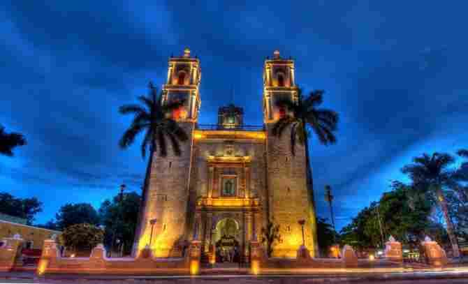 Church of San Servacio - Valladolid, Yucatán.
