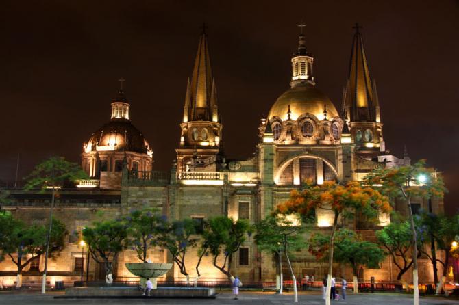 Guadalajara Cathedral, Jalisco.