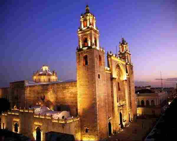 Merida Cathedral, Yucatan.