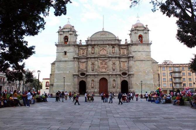 Oaxaca Cathedral, Oaxaca.