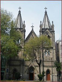 Parish of the Rosary - Delg. Cuauhtémoc, Mexico City DF