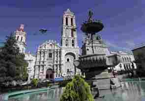 Saltillo Cathedral, Coahuila.