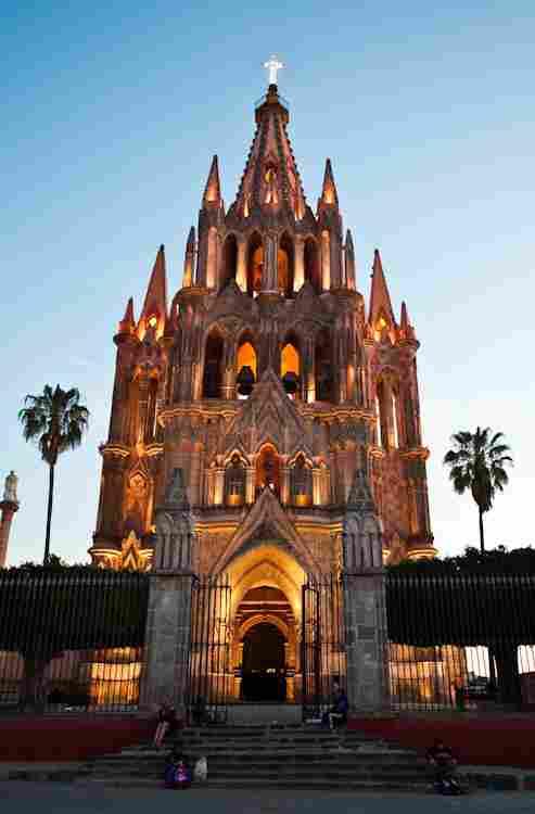Temple of San Miguel Arcángel - San Miguel de Allende, Guanajuato.