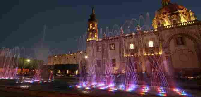 Temple of Santa Rosa - Querétaro, Querétaro.