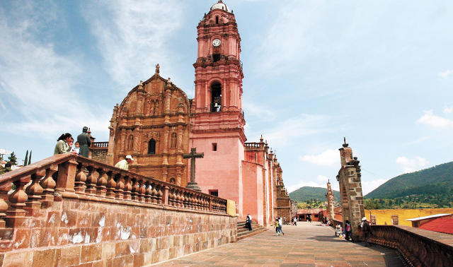 Святилище Кармен - Tlalpujahua, Мичоакан.