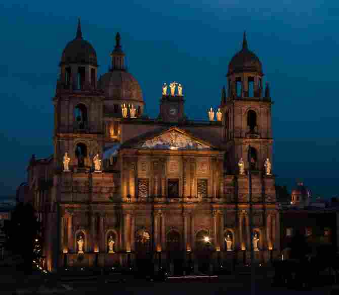 Toluca Cathedral, Edo. from Mexico.