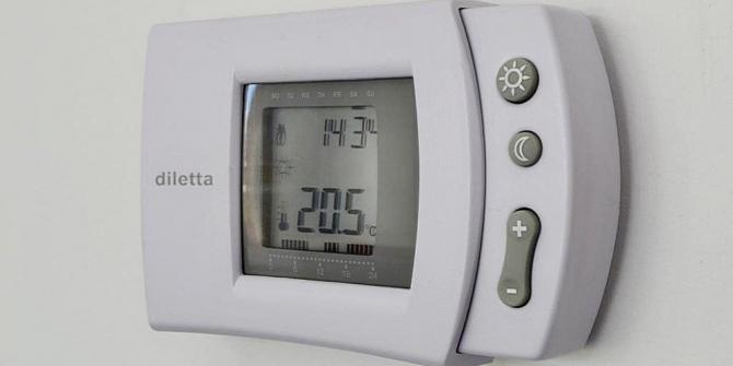 Mantenha uma temperatura confortável