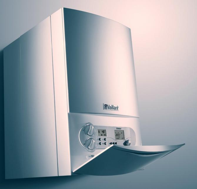 Use a low consumption boiler