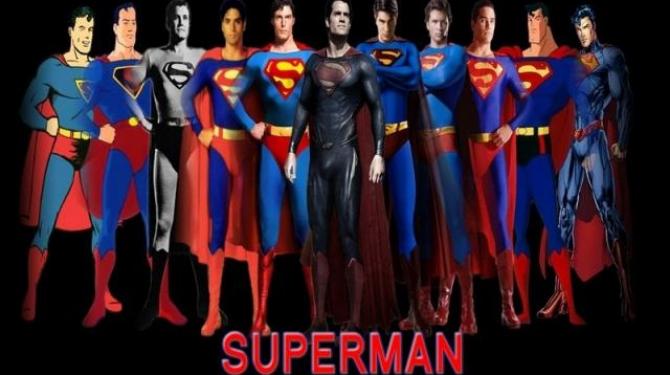 Els diferents Superman de la història del cinema