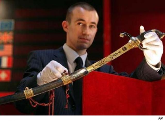 Napoleon's sword
