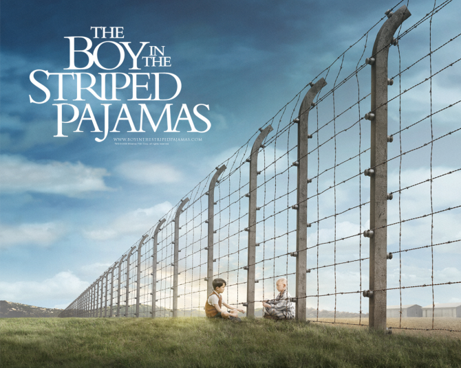 The boy with the striped pajamas