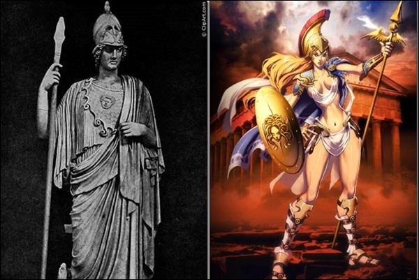 Афина (греческая мифология)