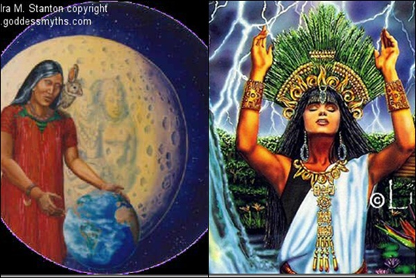 Иксчел (мифология майя)
