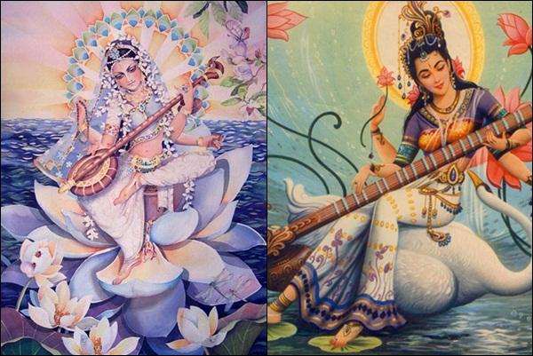 Сарасвати (индуистская мифология)