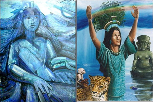Chalchiuhtlicue (мексиканская мифология)
