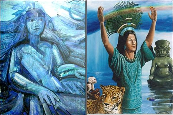 Chalchiuhtlicue (mitologia mexica)