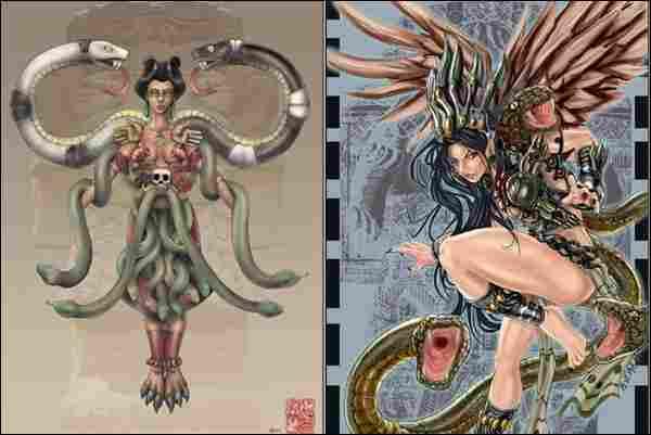 Coatlicue, (Mexican mythology)