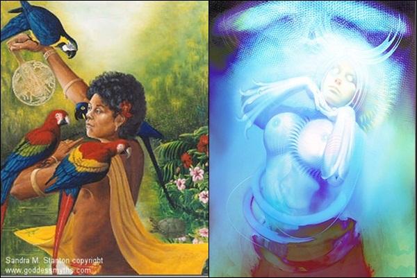 Erzulie (mythologie des Caraïbes)