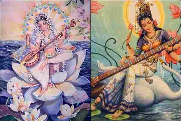 Sarasvati (Hindu mythology)