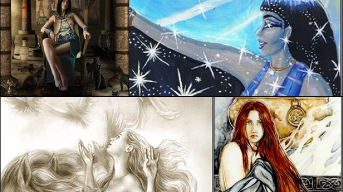 The most famous goddesses of different mythologies