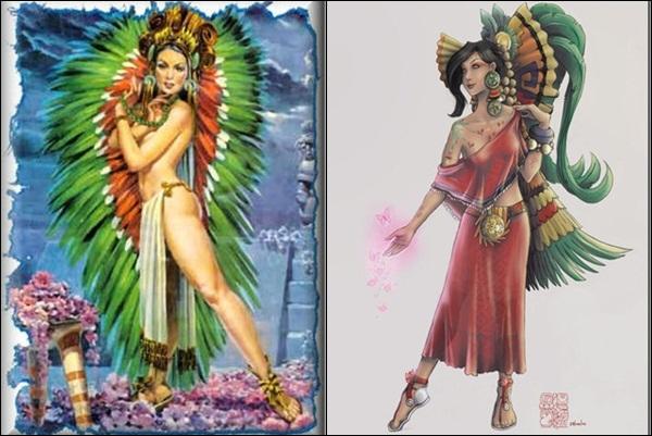 Xochiquétzal (mythologie mexicaine)