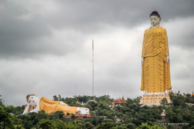 Laykyun Setkyar da Birmânia - 116 metros
