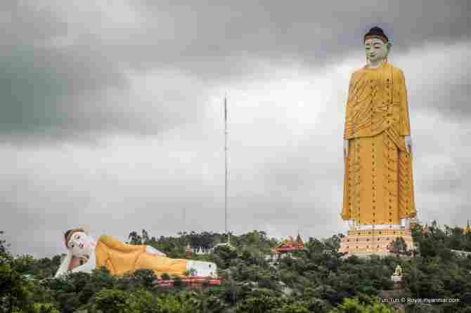 Laykyun Setkyar de Birmania - 116 metros
