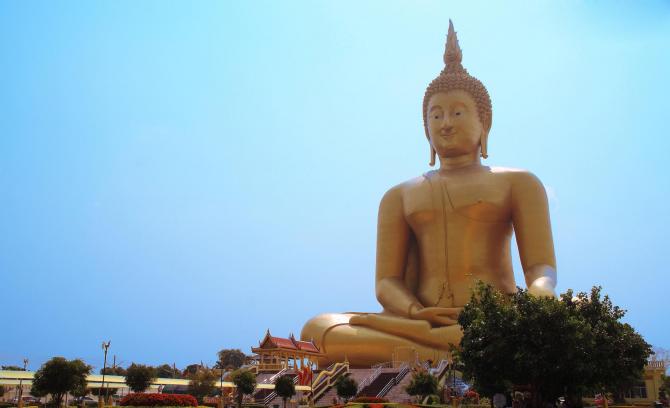 O Grande Buda da Tailândia - 92 metros