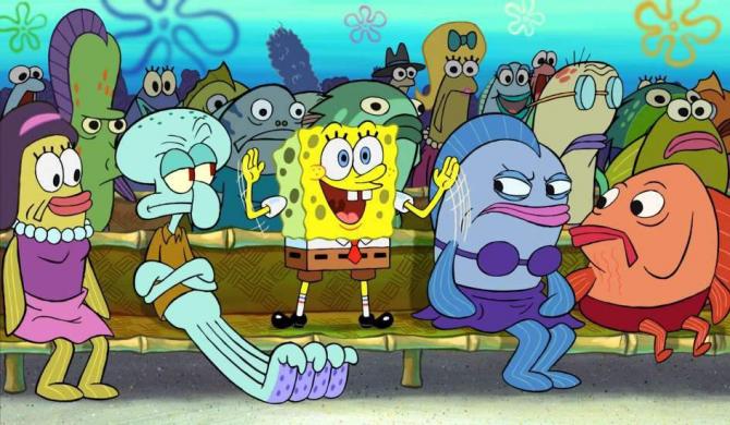 Caracterele SpongeBob sunt rezultatul testelor nucleare