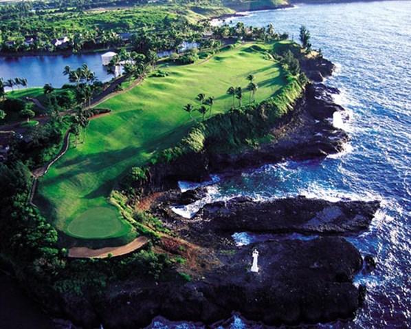 Clube de golfe Kauai Lagoons, Havaí