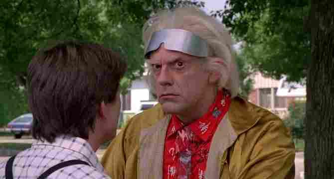 Doc încearcă să se sinucidă în Back to the Future