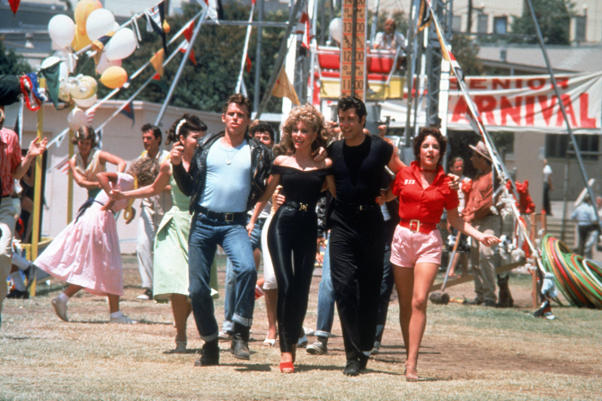 Grease is a fantasy of Sandy before drowning