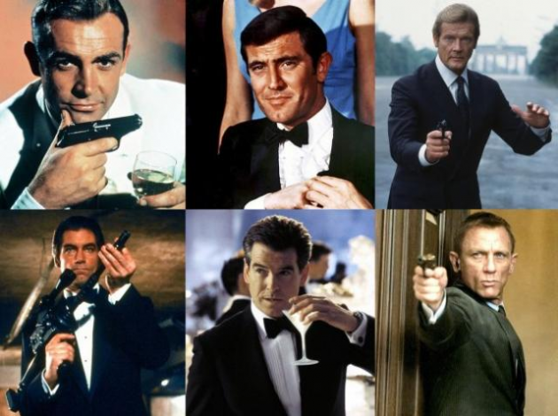 James Bond is a code name