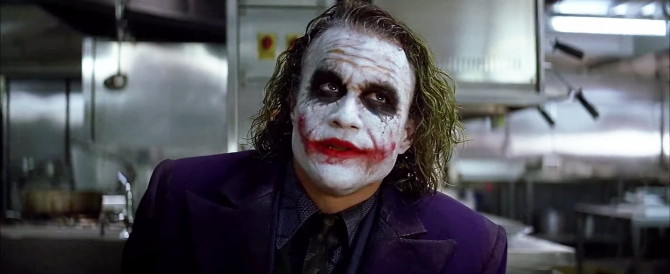 Joker es un veterano de guerra