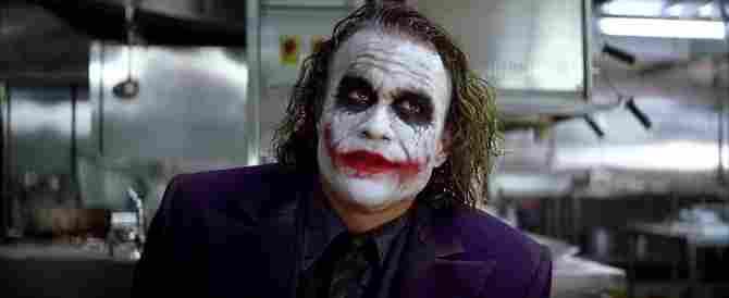 Joker je válečný veterán