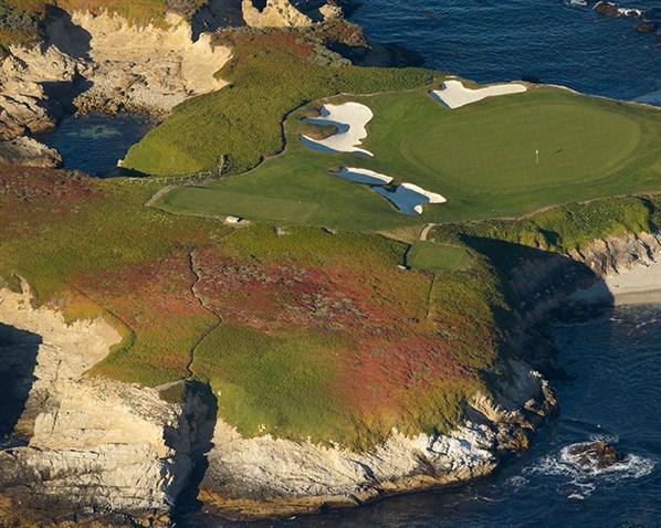 Ligações de golfe em Pebble Beach, EUA