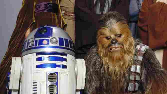 ชิวแบ็กก้าและ R2-D2 เป็นตัวแทนลับกบฏ