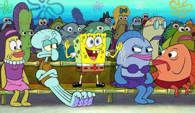 SpongeBob-Charaktere sind das Ergebnis von Nuklearversuchen
