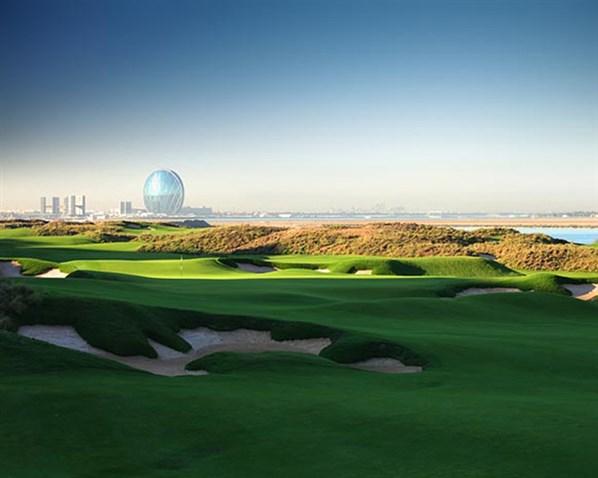 Yas links, Abu Dhabi, United Arab Emirates