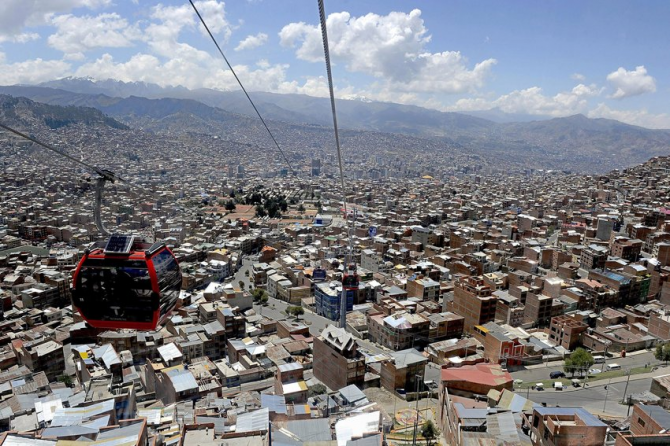 Avoid traffic jams in La Paz