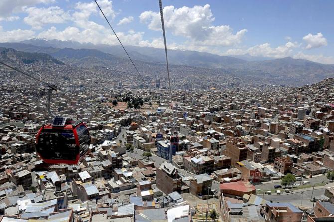 Evite engarrafamentos em La Paz
