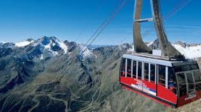 Os teleféricos mais altos e mais longos do mundo