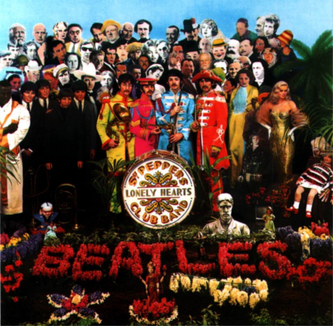 SGT.PEPPER'S LONELY HEARTS CLUB BAND(1967)